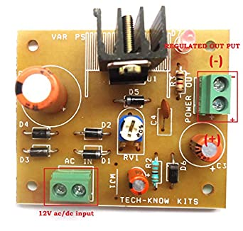 SKE LM317 Adjustable Voltage Regulator Power Supply Module Board