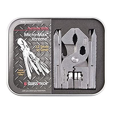 Swiss Tech MMTWSS-XT-PS Micro-Max Xtreme Platinum Series Tool Kit