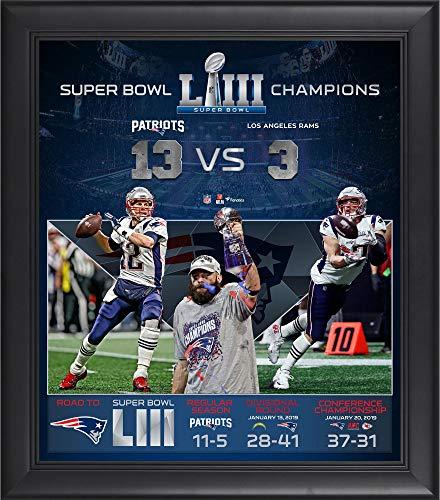 New England Patriots Memorabilia - New England Patriots Framed 15