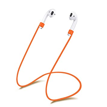 XIHAMA - Correa de Silicona para Auriculares AirPods, Cable Flexible para Apple iPhone 7, 7 Plus, inalámbricos, Bluetooth (Nunca Pierdas Tus AirPods) ...