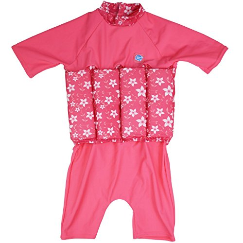 Collection Toddler (Splash About Collections UV (SPF50+) Sun Protection Float Suit with Adjustable Buoyancy (Pink Blossom, 1-2 Years (Chest: 51cm | Length: 37cm)))