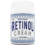 Retinol Cream Moisturizer for Face and Eyes, Use Day and Night - for Anti Aging, Acne, Wrinkles - made with Natural and Organic Ingredients - 1.07 OZ