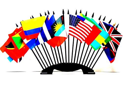 Caribbean Islands World Flag Set with BASE-20 Polyester 4