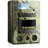 LDesign Hunting Trail Camera, Waterproof Game/Wildlife Surveillance/Home Security Camera with Wide Angle Infrared Night Vision, 720P Glow-26PCs IR LEDs & PIR Sensor, 0.8 Seconds trigger Speed