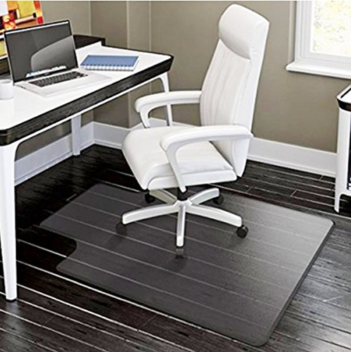 PVC Matte Desk Office Chair Floor Mat Protector for Hard Wood Floors 48'' x 36'' by Generic