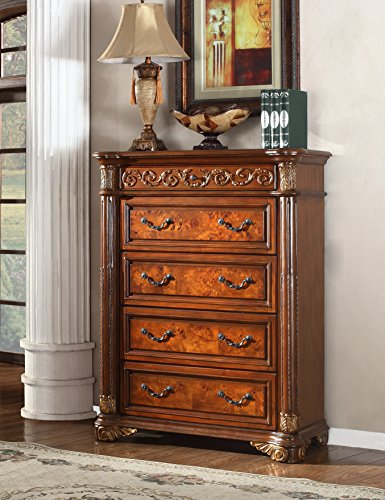 Meridian Royal 5 Drawer Chest in Cherry ()