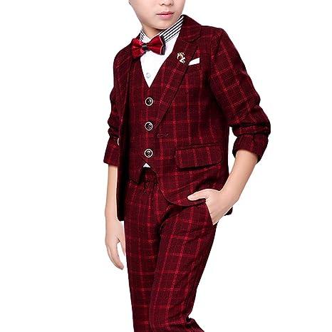 Amazon.com: Chaleco de solapa para niños de estilo casual ...