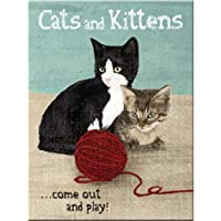 Nostalgic Art Cats and Kittens Magnet