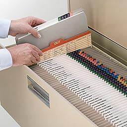 Smead File Folder, Reinforced Straight-Cut Tab, Letter Size, Gray, 100 per Box (12310)