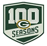 Football Packers 100 Seasons Patch 100th Season Limited Edition PRE-Order Item - Shipping Begins October 15TH