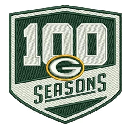 Image Unavailable. Image not available for. Color  Football Packers 100  Seasons Patch 100th Season Limited Edition 1d88d59f2