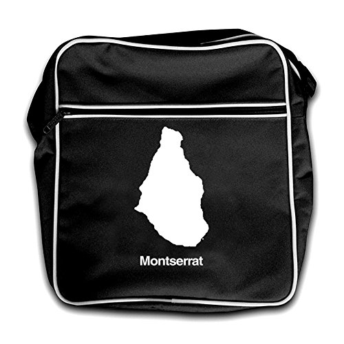 Retro Silhouette Montserrat Flight Red Bag Black 5SOwqOZ