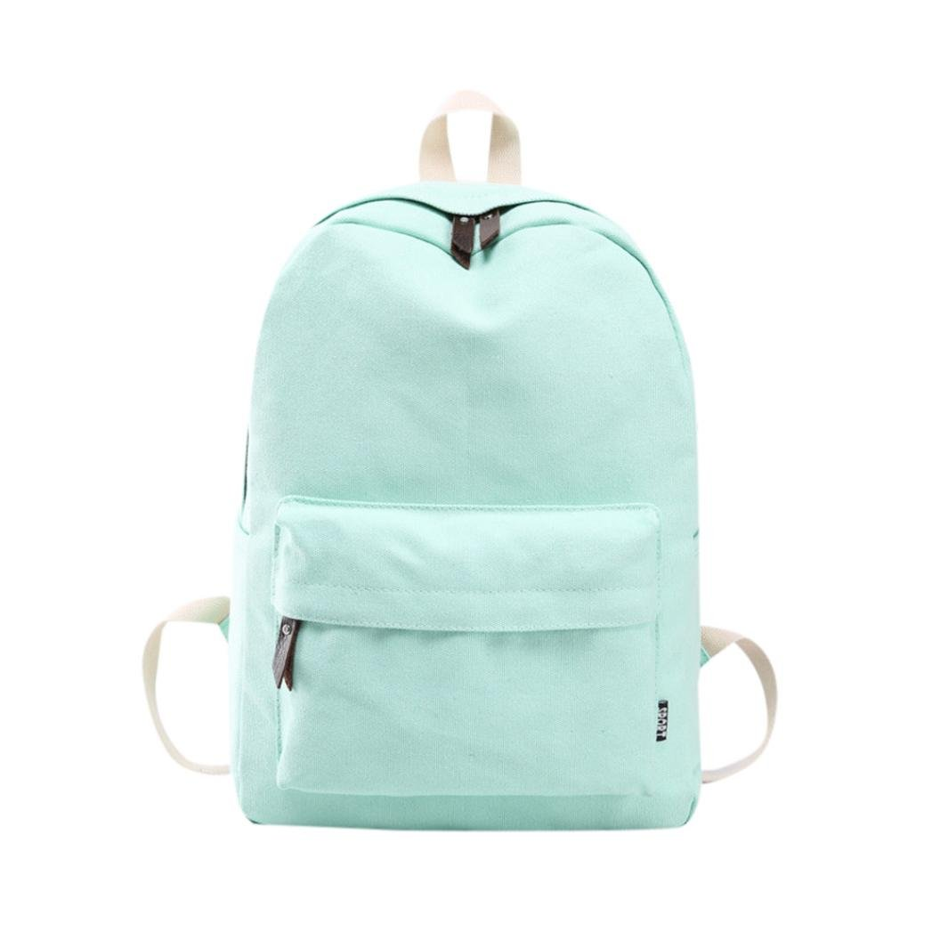 Shoulder Bookbags, Rakkiss Girls Canvas Preppy School Travel Backpack Bag Women Crossbody Bag Satchel Shoulder Bags
