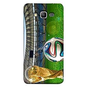 ColorKing Samsung Grand Prime Football Multicolor Case shell cover - Fifa Cup 11