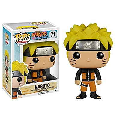 Funko Pop! Anime: Naruto Shippuden - Naruto #71 Vinyl Figure (Bundled with Pop BOX PROTECTOR CASE): Toys & Games