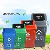 Outdoor Trash Cans Bins Plastics Classification