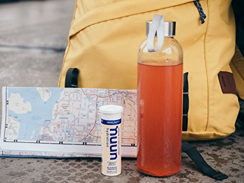 Nuun Immunity: Zinc, Turmeric, Elderberry, Ginger, Echinacea, and Electrolytes for an Anti-Inflammatory and Antioxidant Boost in Immune Support and Hydration, Orange Citrus 8-Pack by Nuun (Image #7)