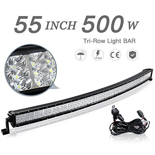 LED-Light-Bar-Tri-Row-Spot-Flood-Combo-Beam-Lights-for-Off-Road-DrivingTrucks-Jeep-Wrangler-UTV-with-Wiring-Harness-2-Year-Warranty