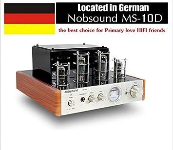 Amplificador de válvulas amplificador de potencia de audio estéreo Nobsound MS-10D excelente Röhrenverstärker