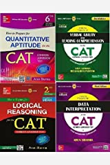 How to Prepare for the Cat Common Admission Test (Set Of 4 Books) By Arun Sharma And Meenakshi Upadhyay Paperback