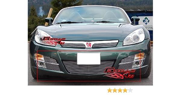 Amazon.com: APS Fits 2007-2009 Saturn Sky Lower Bumper Billet Grille Insert #S67619A: Automotive