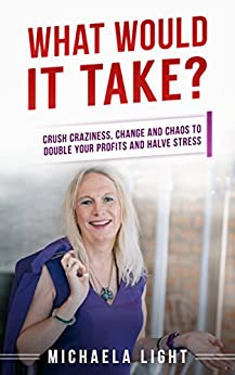 What Would It Take?: Crush Craziness, Change and Chaos to Double Your Profits and Halve Stress (Intuitive Decision Making Book 1) by [Light, Michaela]