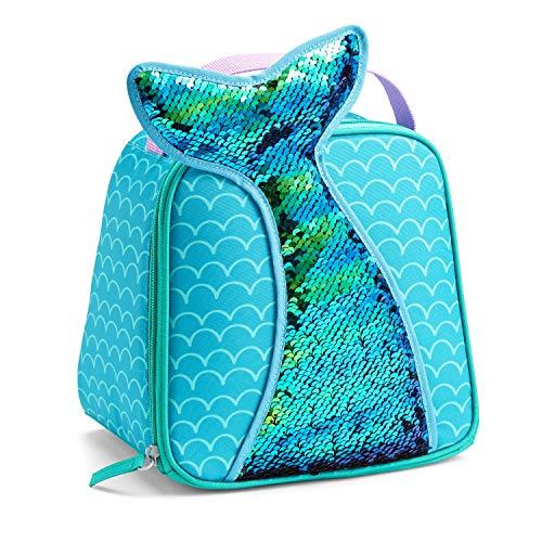 Fit & Fresh 2828KFF2362 Ariel Lunch Bag, Kids, Fun, Colorful, 8.5