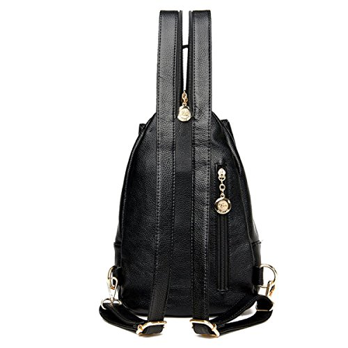 purpose LAIDAYE Bag Ladies Dual Backpack Multi Anti Leisure Black Bag Backpack Ladies use Chest Fashion Daily Shoulder theft 00H5rwPq