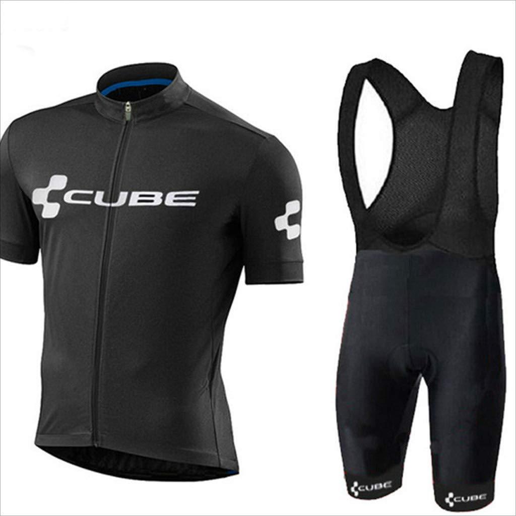 Lilongjiao Sommer Jersey Anzug kurzärmelige Straße Mountainbike Fahrrad Kleidung Radfahren Kurzarm Shorts Anzug Sportswear Shorts