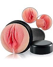 3D Realistische Masturbator Manuelle Cup aus super realistischem Skin Material, Aivrobta Muschi Masturbieren Mann, Erotik Pocket Pussy Sexspielzeug für Männer