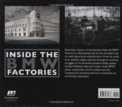 Inside the BMW Factories: Building the Ultimate Driving Machine: Amazon.es: Graham Robson: Libros en idiomas extranjeros