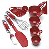 KitchenAid Professional Series Empire Red 5pc Mixing Set