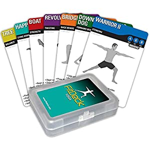Fitdeck Illustrated Exercise Playing Cards for Guided Workouts by Fitdeck