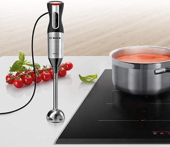 Bosch MS62M6110 ErgoMixx Style Batidora de Mano, 1000 W, Plástico, 12 Velocidades: Amazon.es: Hogar