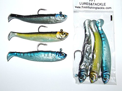 51d25b8955ce7 FFT SUPER CATCH CRUSADER SHAD 3 x 28g