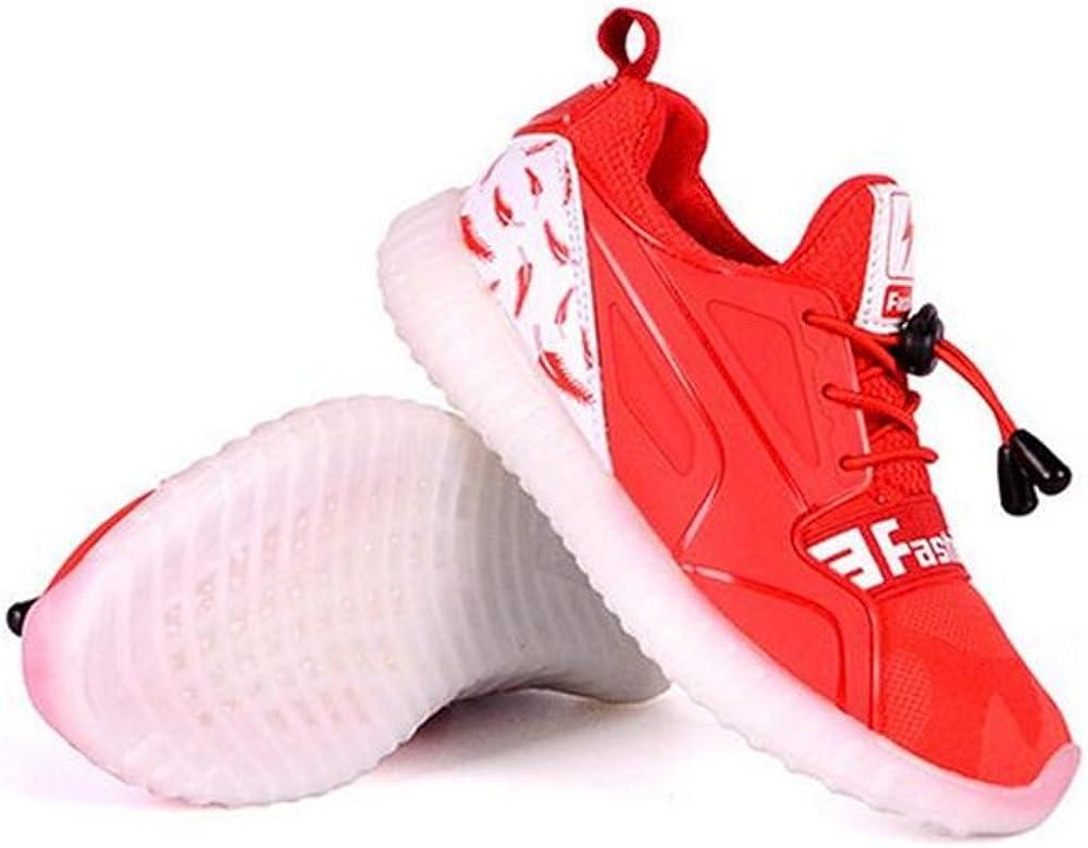 24XOmx55S99 Kids Led Light Up Shoes Luminous Flashing Sneakers for Boys Girls