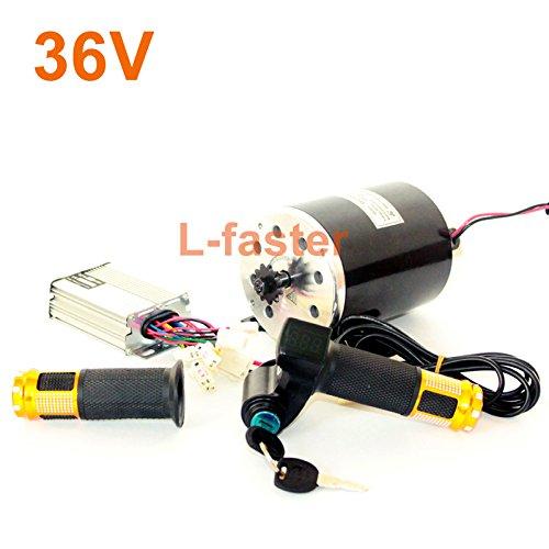 36v48v 750ワット電動オートバイ変換キットMY1020 unitemotor永久磁石ブラシ付きdcモータ電動スクーターエンジン#25 h B0721B6J3V 36V twist kit 36V twist kit