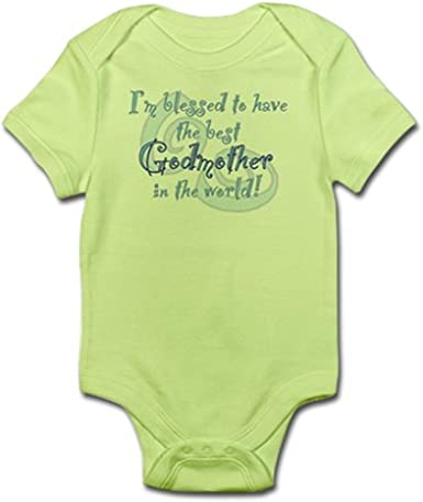 I Have The Best GodMother In The World Baby Romper