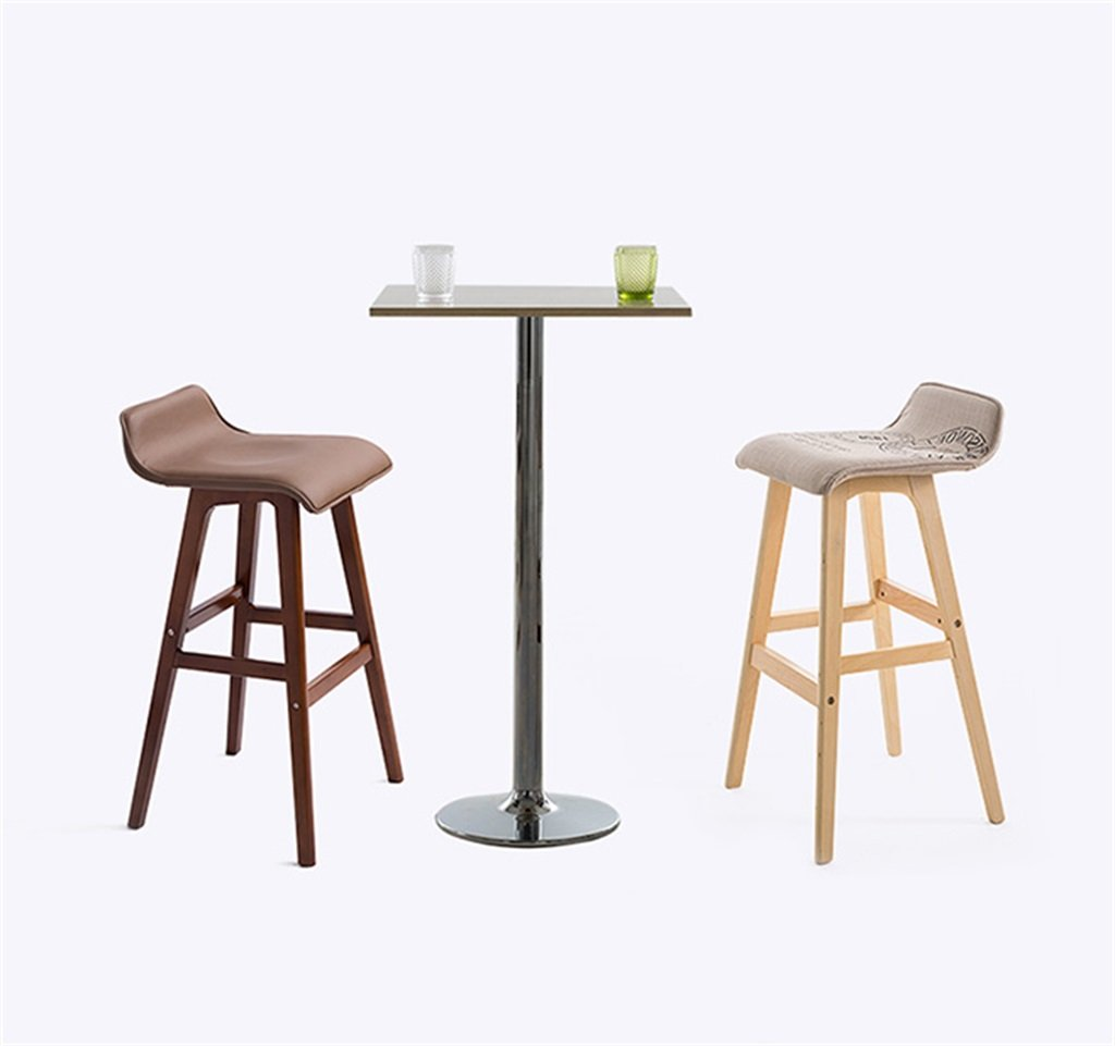 Amazon.de: LAXF-Tritt Hocker Kreative Retro Holz Bar Stuhl ...