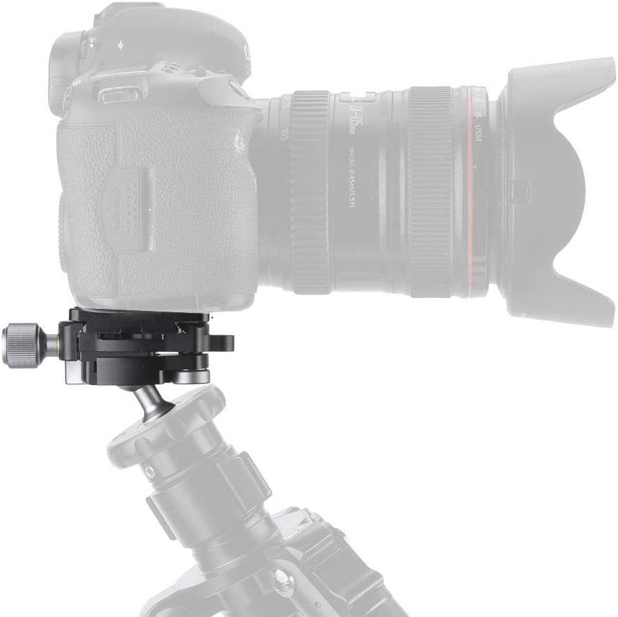 Qinlorgo FBC-18 Mini Locking Quick Release Ball Head Mount 1//4 Screw for Camera Tripod