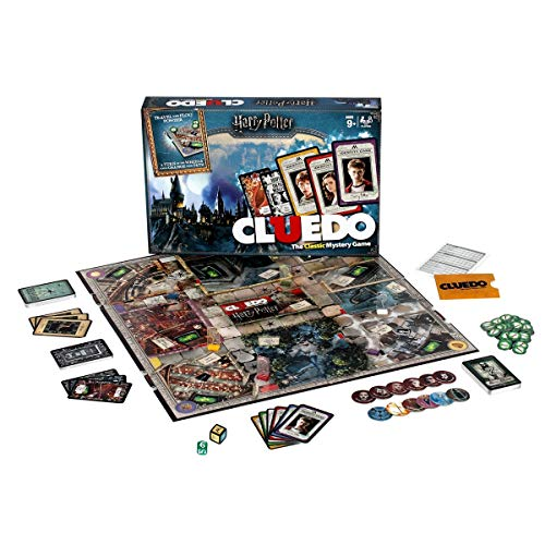 Winning Moves Games Harry Potter Cluedo Mystery Board Game (Potter Game Board Harry Clue)