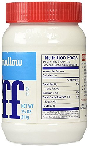Fluff Marshmallow Spread 7.5 Ounce (Pack of 12)