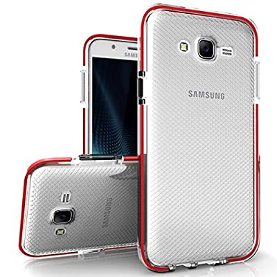 Samsung Galaxy J7 Case, Zizo [Pulse Series] Lightweight w/ Shockproof [Impact Dispersion Technology] and [Anti-Slip Grip] Single Layered Galaxy J700