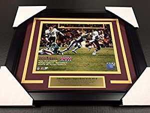 John Riggins Super Bowl XVII 8X10 Photo Framed Washington Redskins