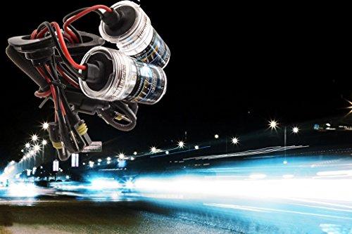 (Skuleer(TM)Auto Replacement Bulbs Night High beam Xenon HID light source new Car Ray H11 6000K Headlight bulbs Hernia lamp YA128+)