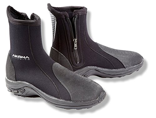 Akona Deluxe Molded Sole Boot, 10/6mm
