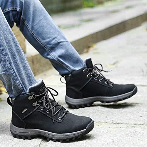 Marche Sneakers Plein Coton Hommes Bottes en Mâle Chaud Hiver Épaissi Garder Air Montagne Sport Hommes Confortable Randonnée Chaussures en Au d'escalade xqBZwqR