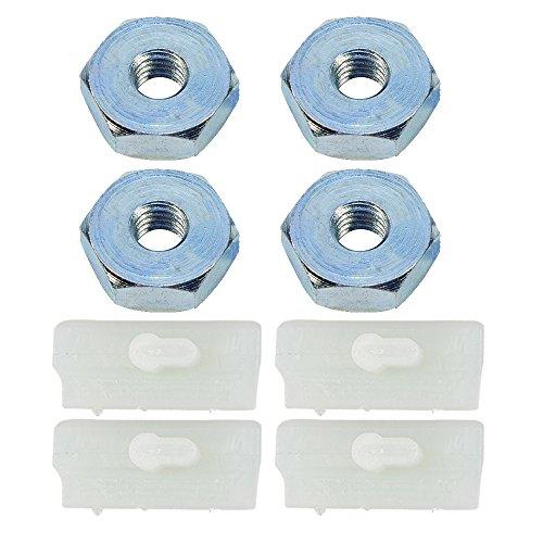 HIPA Sprocket Cover Bar Nut + Bumper Strip for STIHL MS290 MS310 MS390 MS240 MS260 MS270 MS280 MS360 MS440 MS460 MS640 MS650 MS660 Chainsaw