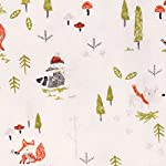 Trend-Lab-100-Cotton-Winter-Woods-Deluxe-Flannel-Fitted-Crib-Sheet