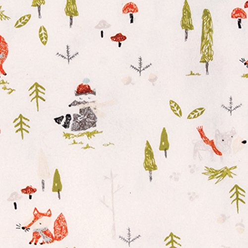 Trend Lab Winter Woods Deluxe Flannel Fitted Crib Sheet, Multi by Trend Lab (Image #1)